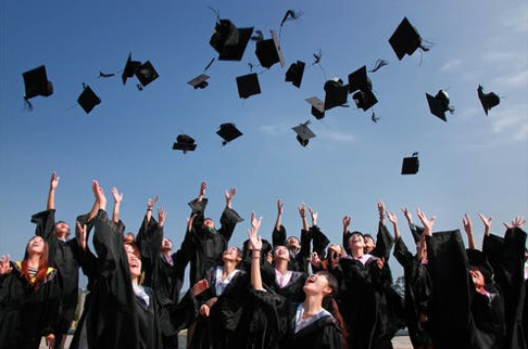 a graduation ceremony